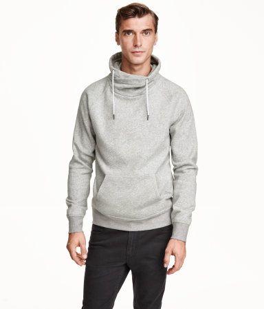 H&M Chimney-collar Sweatshirt $29.99