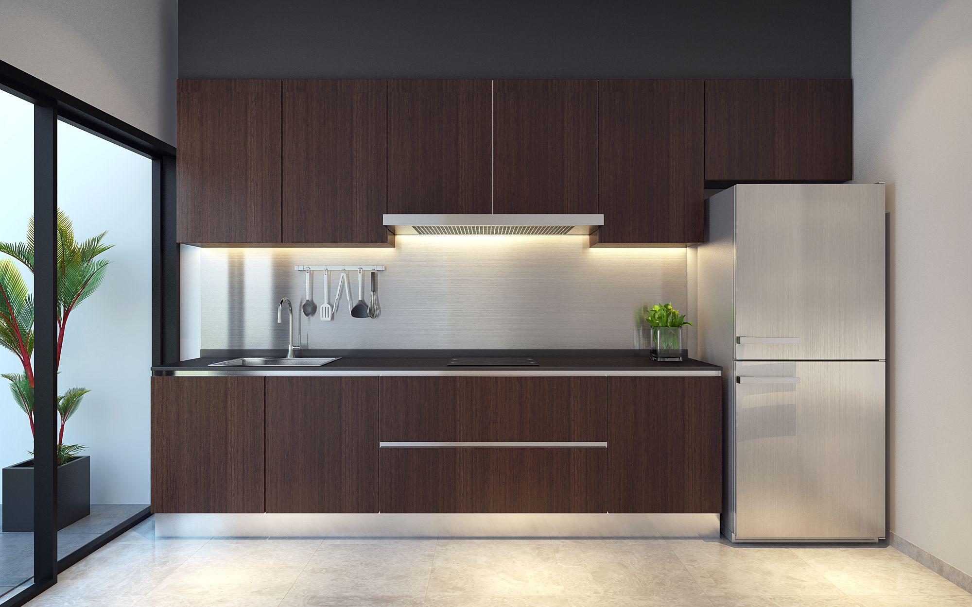 Wet Kitchen For Semi Detached House Near Thomson Singapore Extraordinary Wet Kitchen Design Inspiration Design