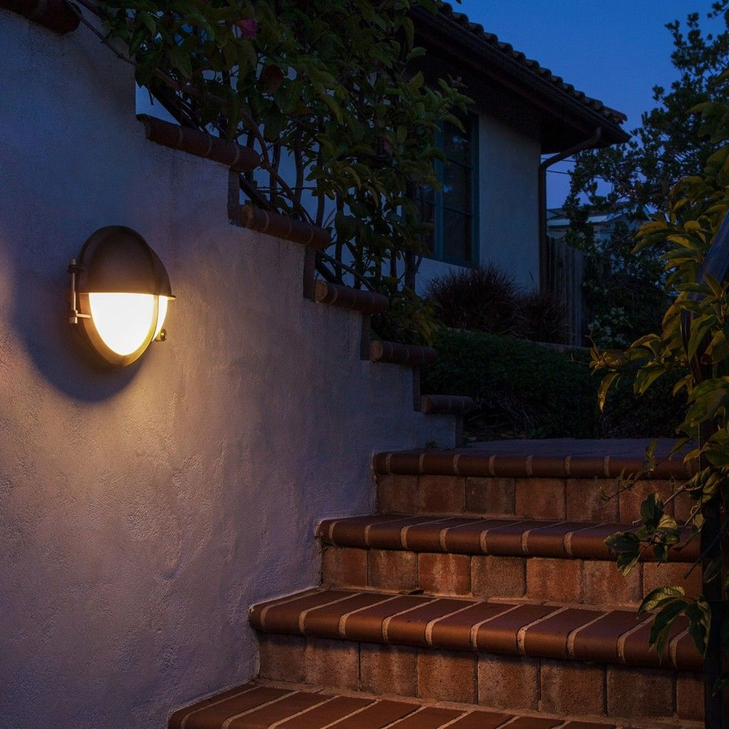Boom Collection Bronze Led Outdoor Wall Light 31120 31148