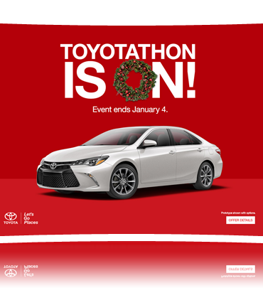 The Gest Toyota S Event Of Year Now Through January 4th Great Incentives To Choose From At Anderson Scion In Loves Park Illinois