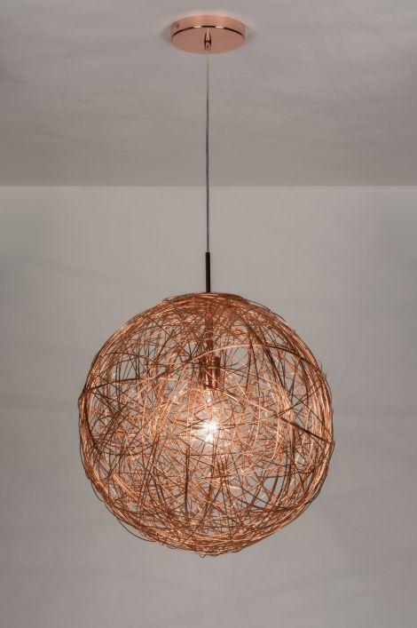 hanglamp modern aluminium rond slaapkamer pinterest