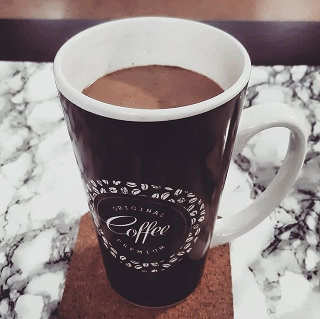 A Big Cup Of Coffee To Get Me Through This Moody Rainy Day