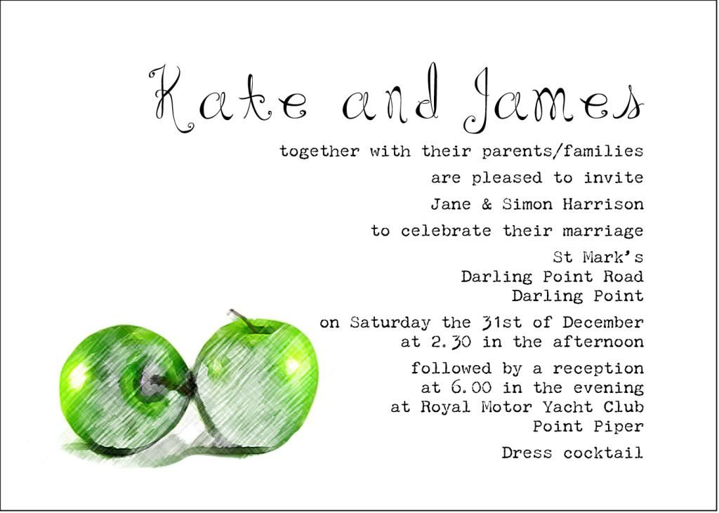 Wording For Wedding Invitations Couple Hosting