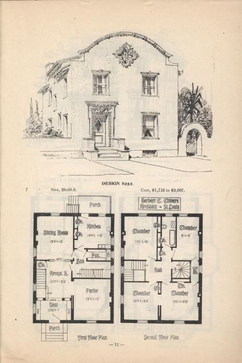 Artistic City Houses No 43 Herbert Chivers Free Download Borrow And Streaming Internet Archive Colonial House Plans House Plans Spanish Colonial Homes