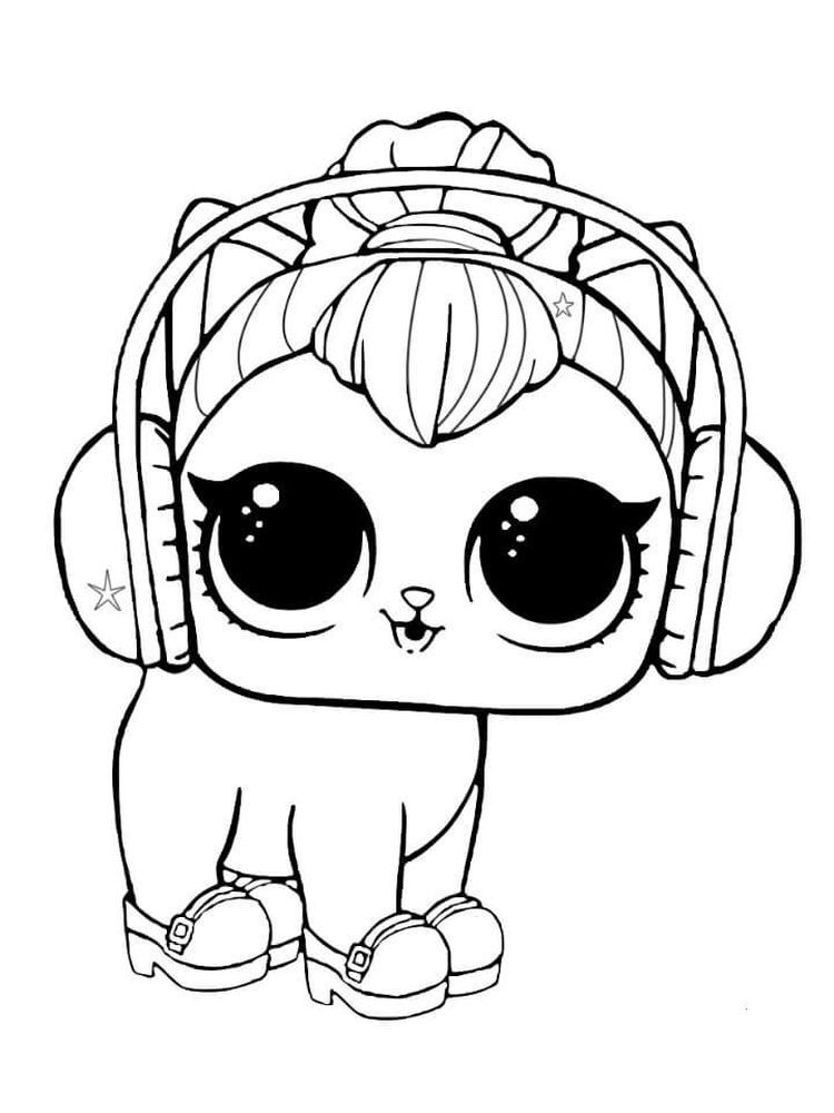 Lol Pets Coloring Pages Pets Are Animals That Are Deliberately Maintained By Humans To Be Used As Everyd Kitty Coloring Puppy Coloring Pages Dog Coloring Page
