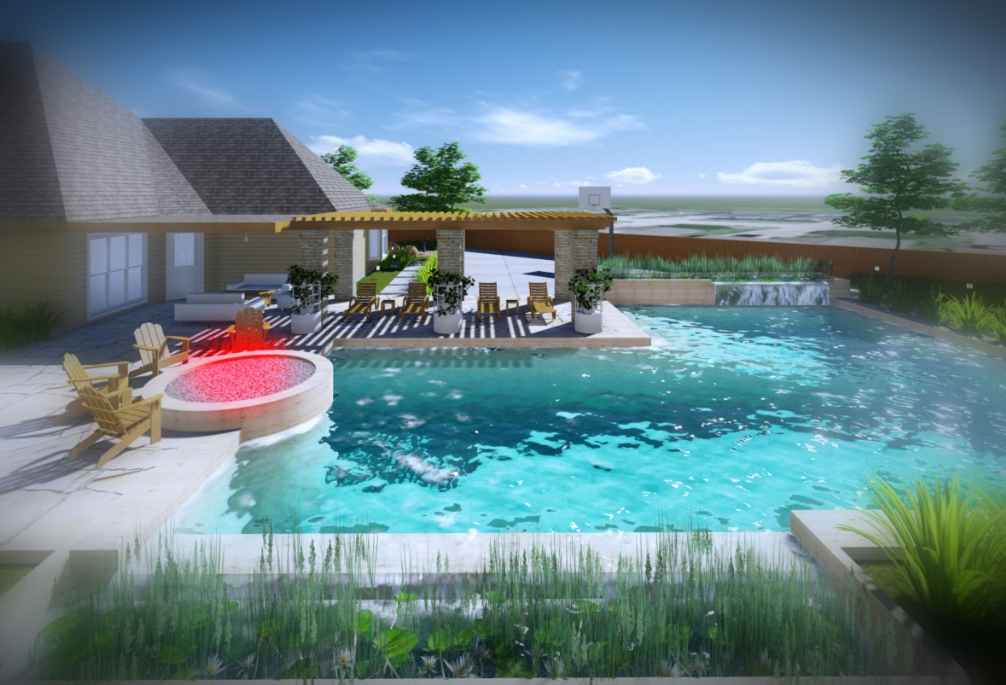 #BackYard Design by Farid Indra Gunawan from Indonesia. Check out arcbazar.com for more #landscape designs!