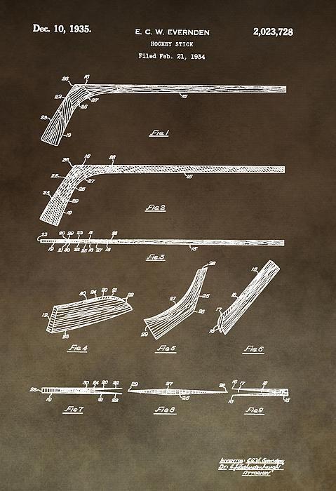 Ice Hockey Stick Patent