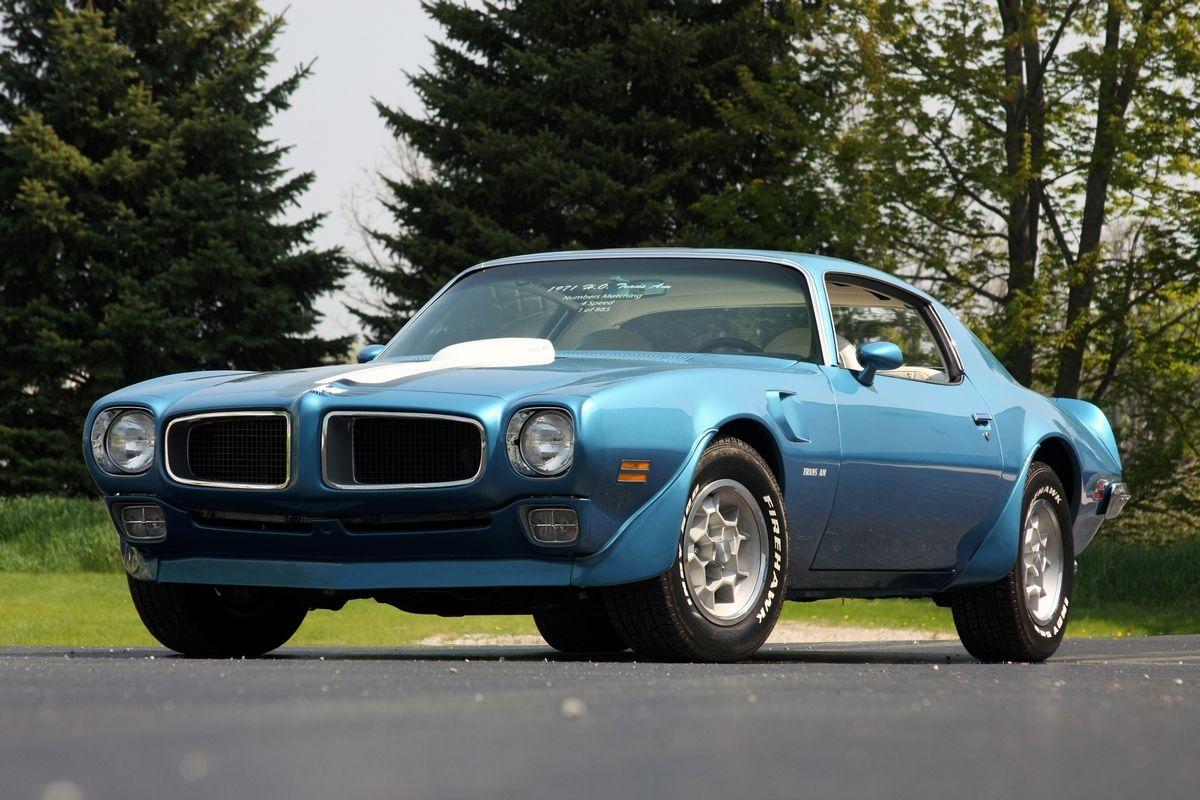 71 Pontiac Ho Trans Am Pony Car Pontiac Firebird Trans Am Pontiac Firebird