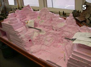 MAQUETTE INSPIRATION: Making a Foam Model Railroad Display
