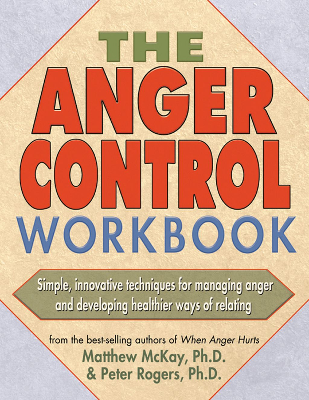 The Anger Control Workbook Ebook In