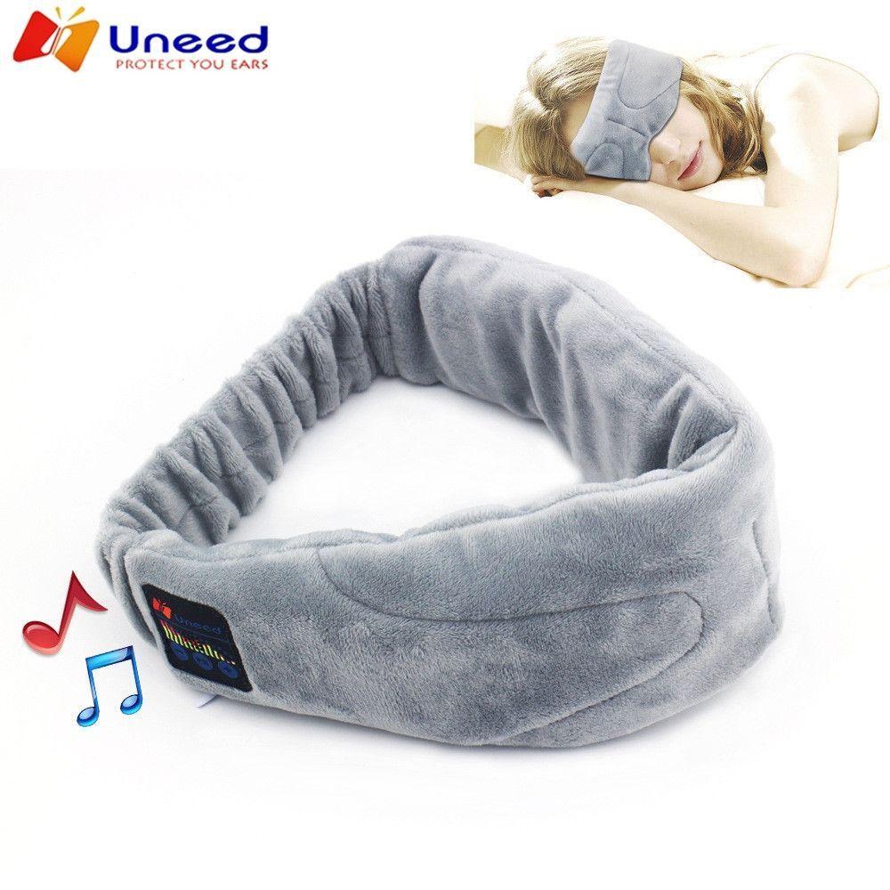 Wireless Wtereo Bluetooth Earphone Sleep Mask Phone Headband Sleep Soft Earphones For Sleeping Eye Mask Sleep Headphones Bluetooth Earphones Bluetooth Headset