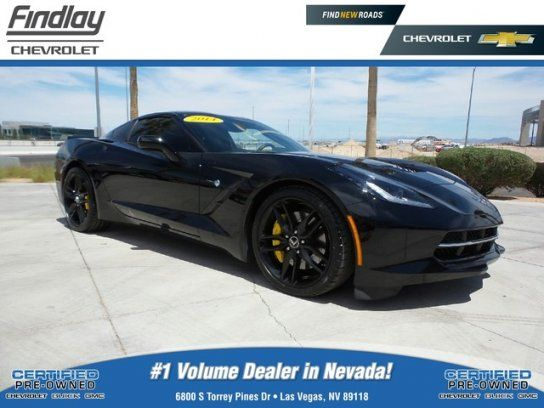 Coupe 2014 Chevrolet Corvette Stingray Coupe With 2 Door In Las