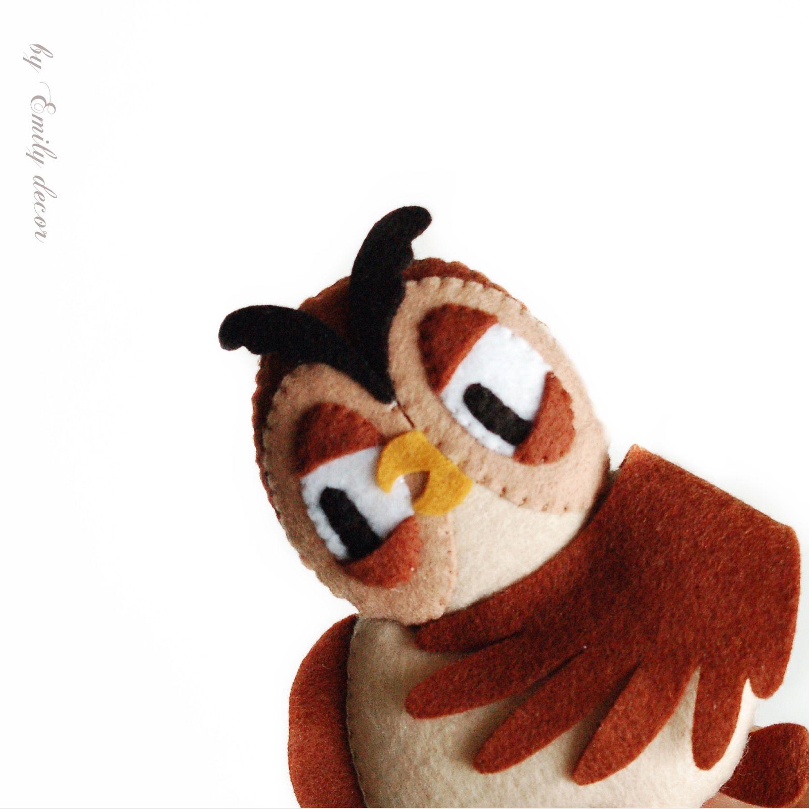 Сова из Винни Пуха, сова, сова из фетра, игрушка сова ...