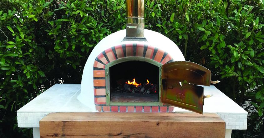 The Forno Braga Wood Fired Pizza Ovens Are Real Authentic