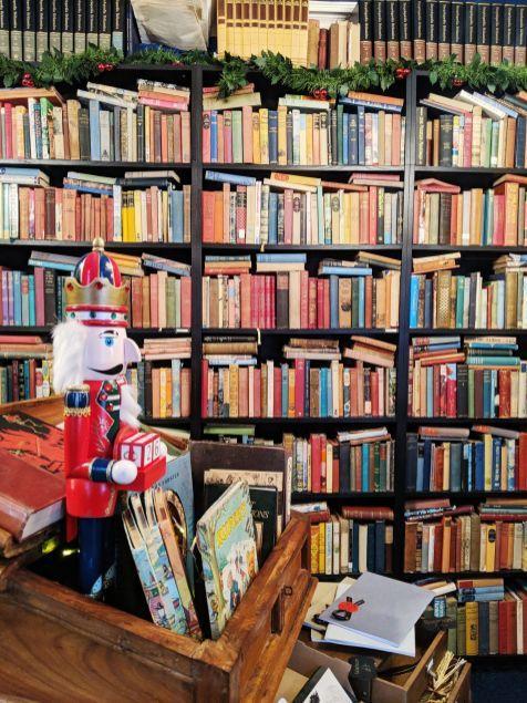 Vintage Bookshelves At The Barrister S Book Chamber Retford