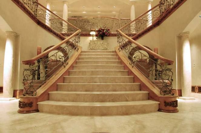 Elegant Staircase Designs With Woods For Elegant Asian