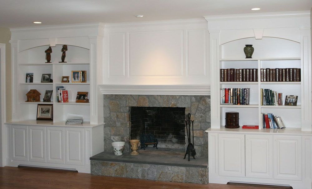 Superior Custom Wall Units With Fireplace | Offices Hallways Decks Home About Us  Contact Us Kitchens Bathrooms