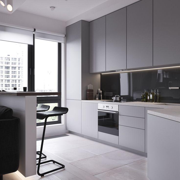 3 moderne Apartments unter 50 Quadratmetern (inklusive