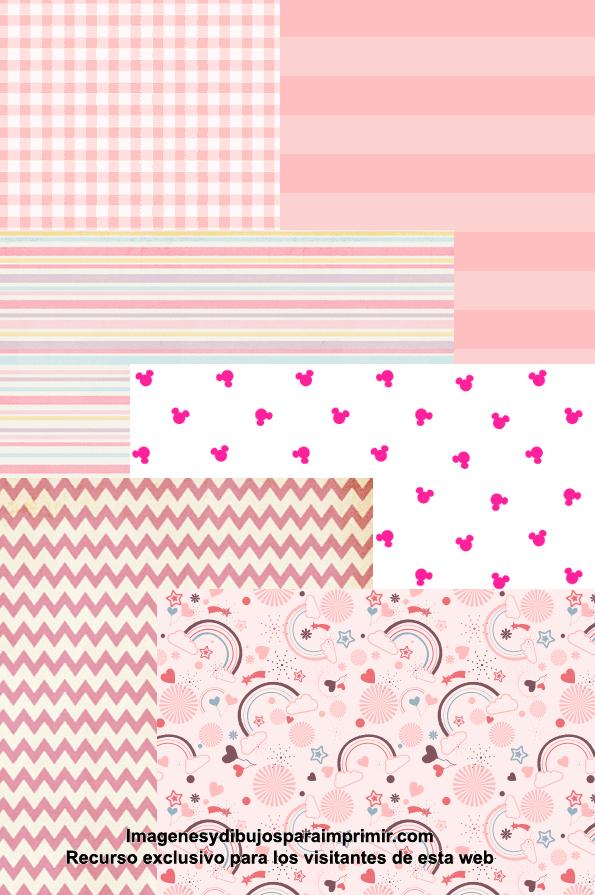 Papel Scrapbook Para Bebes Para Imprimir Imagenes Y Dibujos Para Imprimir Printable Paper Paper Decorations Planner Stickers