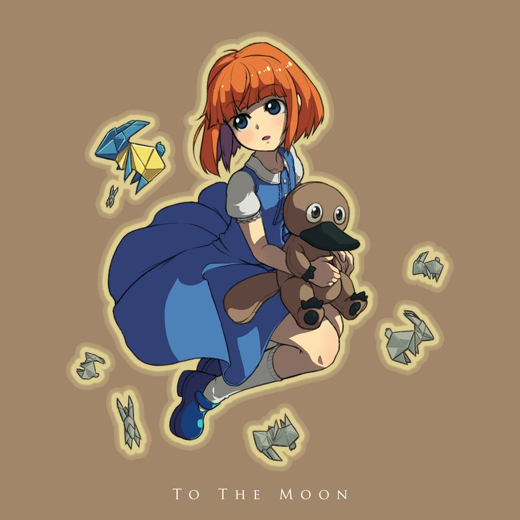 Steam Community :: :: River   To The Moon   Moon, Moon river