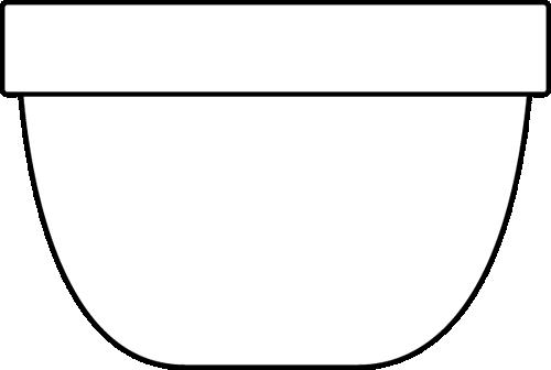 Black And White Bowl Clip Art Black And White Bowl Image White Bowls Clip Art Bowl Image