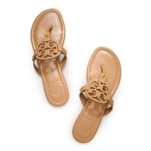 779ccb97a Tory Burch Miller sandals-Royal Tan