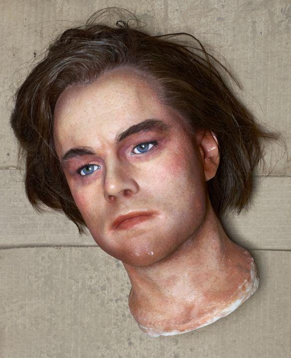 Leonardo DiCaprio 2009 by David LaChapelle