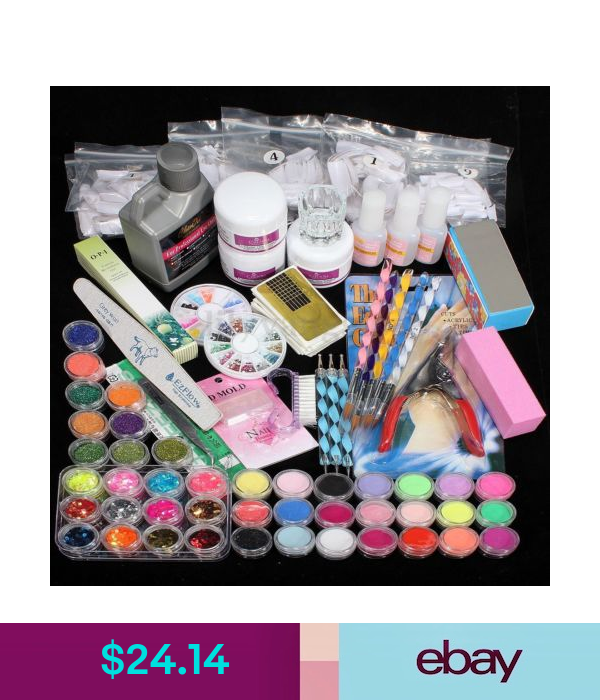 Acrylic Nail Kit 120ml Acrylic Liquid Powders Acrylic Extension Nails Sets Acrylic Nail Kit Acrylic Nail Set Acrylic Nails At Home