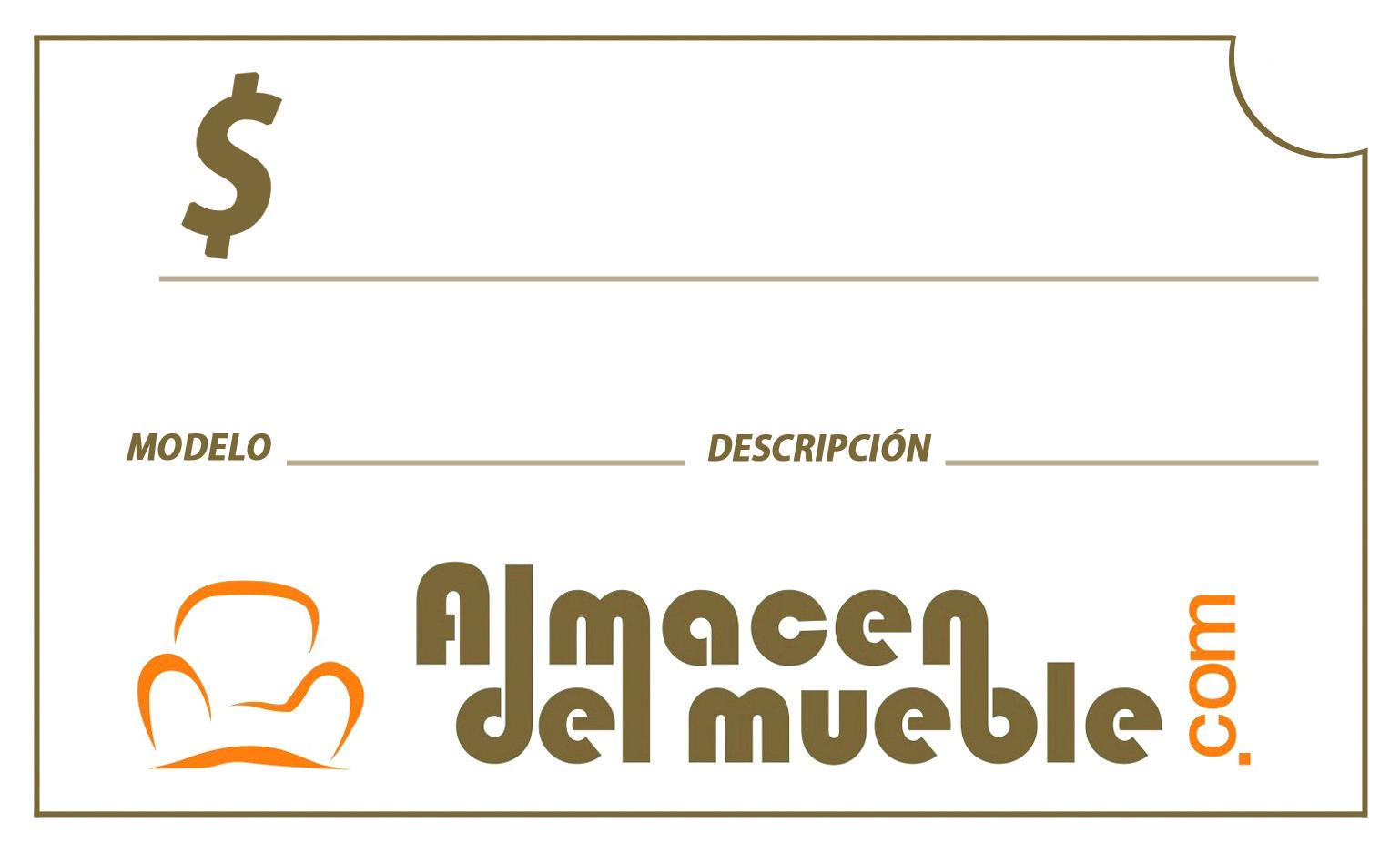 Tag de precio Almacén Del Mueble, Guaynabo, Puerto Rico.