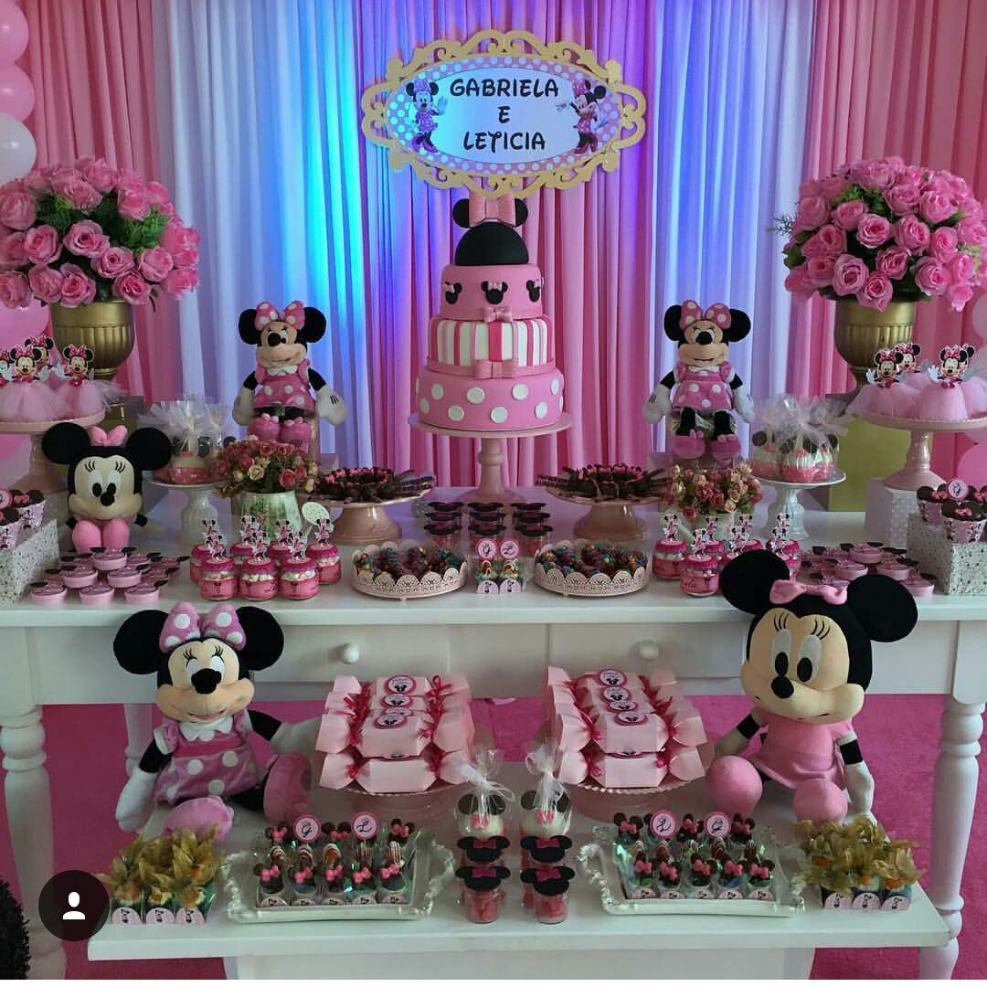 Minnie mickey and minnie pinterest cumple fiestas y for Decoracion cumpleanos minnie