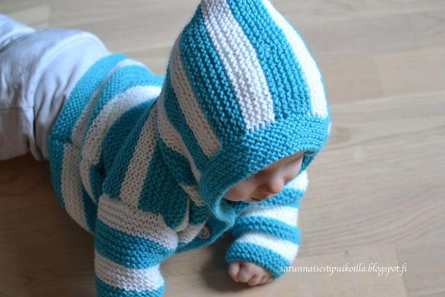 Satunnaisesti puikoilla: Nuorimmaisen ensimmäinen villatakki