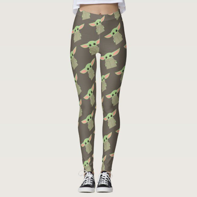 The Child Pastel Artwork Leggings #the #child #pastel #artwork #illustration #Leggings