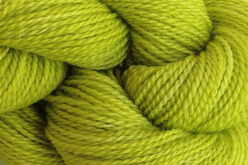 Rain Green Hand Dyed Merino Wool Yarn Lace Weight - product image