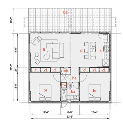 Fabric Headboardhome Design Blog | Tiny house floor plans