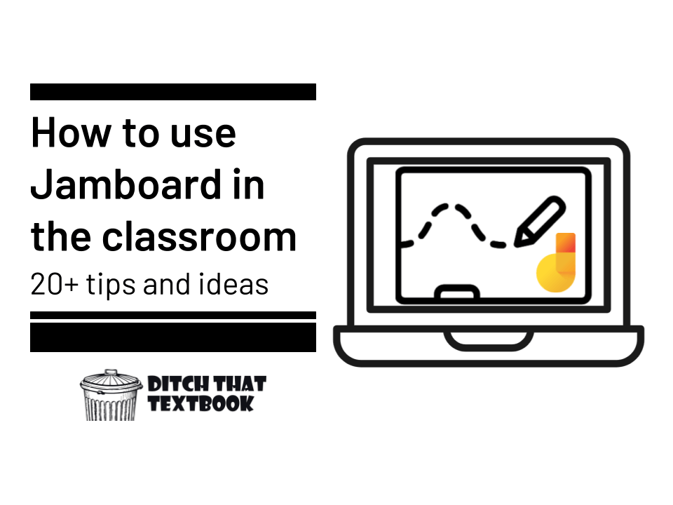How To Use Jamboard In The Classroom 20 Tips And Ideas Ditch That Textbook Textbook Classroom Student Collaboration