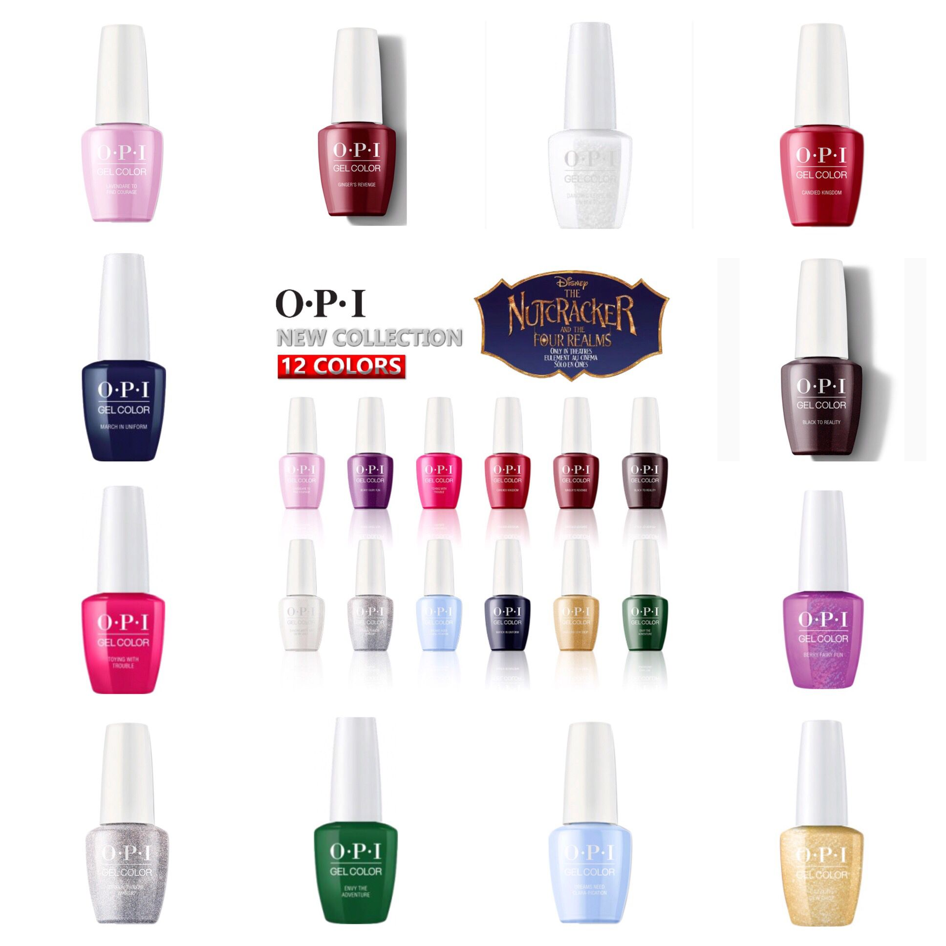 Opi The Nutcracker And The Four Realms Opi Gelcolor Soak Off Gel Polish The Nutcracker And The Four Realms Collection Opi Gelcolor Gel Color Opi Gel