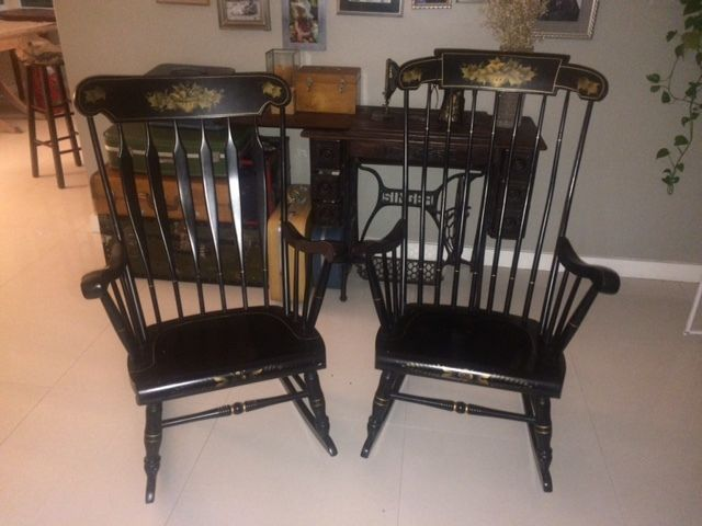 S Bent Bros Colonial 1960s Rocking Chairs Set Or Single | EBay