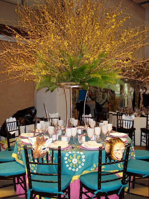 Dovecote Decor Lenox Hill Neighborhood House Spring Gala Flowers