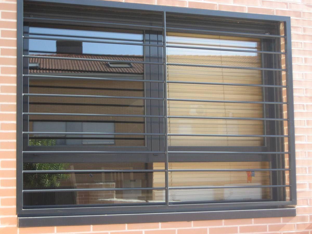 Rejas Estilo Modernos Herrería En 2019 Window Protection Iron