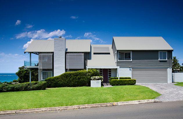Best Roof Colorbond Colour Centre Shale Grey™ Beach House 640 x 480