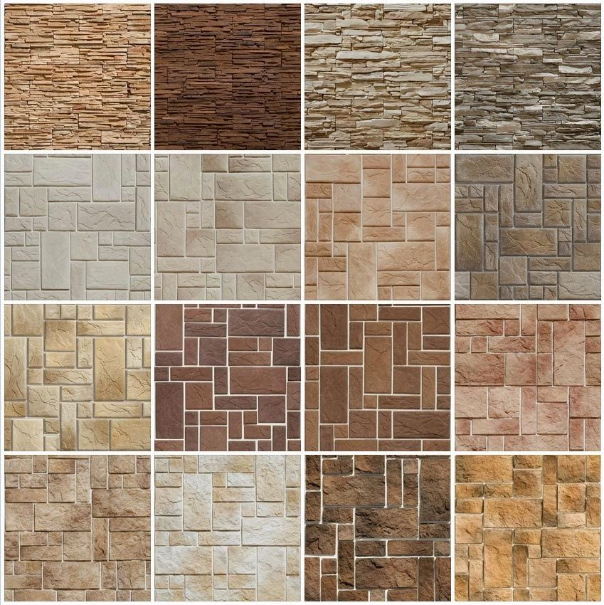 Seamless Masonry Stone Walls 15 Texture Pinterest