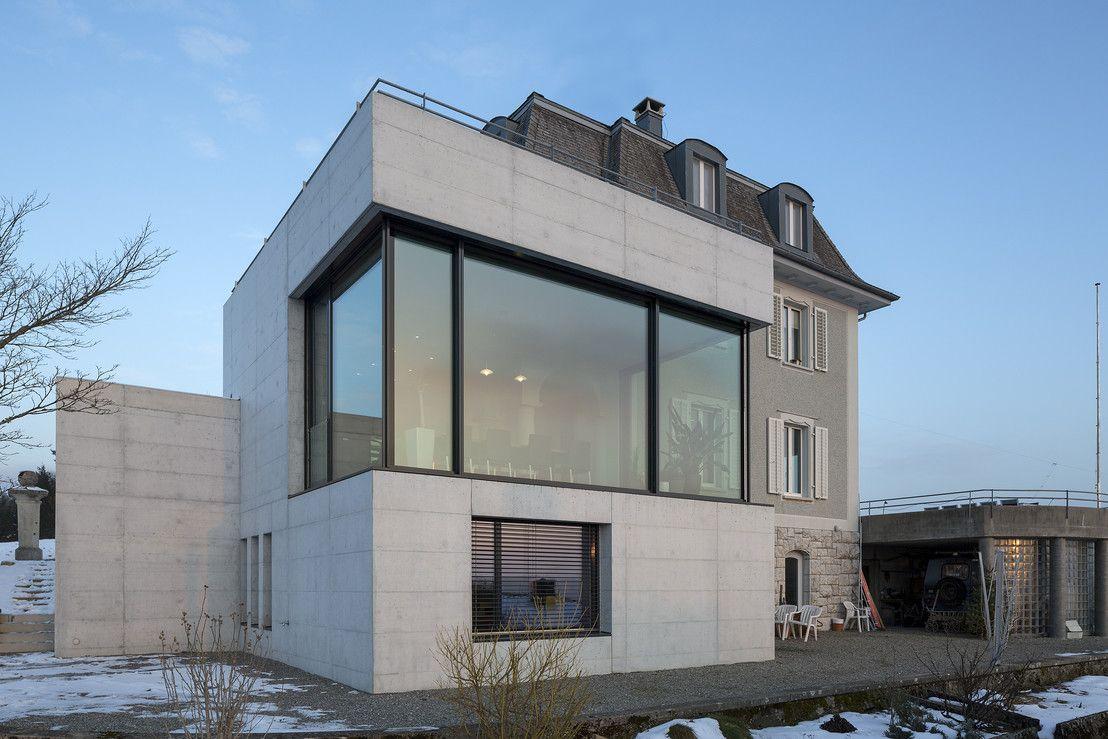 Entrancing Hausanbau Modern The Best Of Klassik Und Moderne In Einem Anbau Schweiz