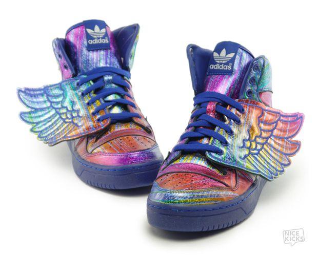 best sneakers 01b62 d8a0f Jeremy Scott x adidas Wings