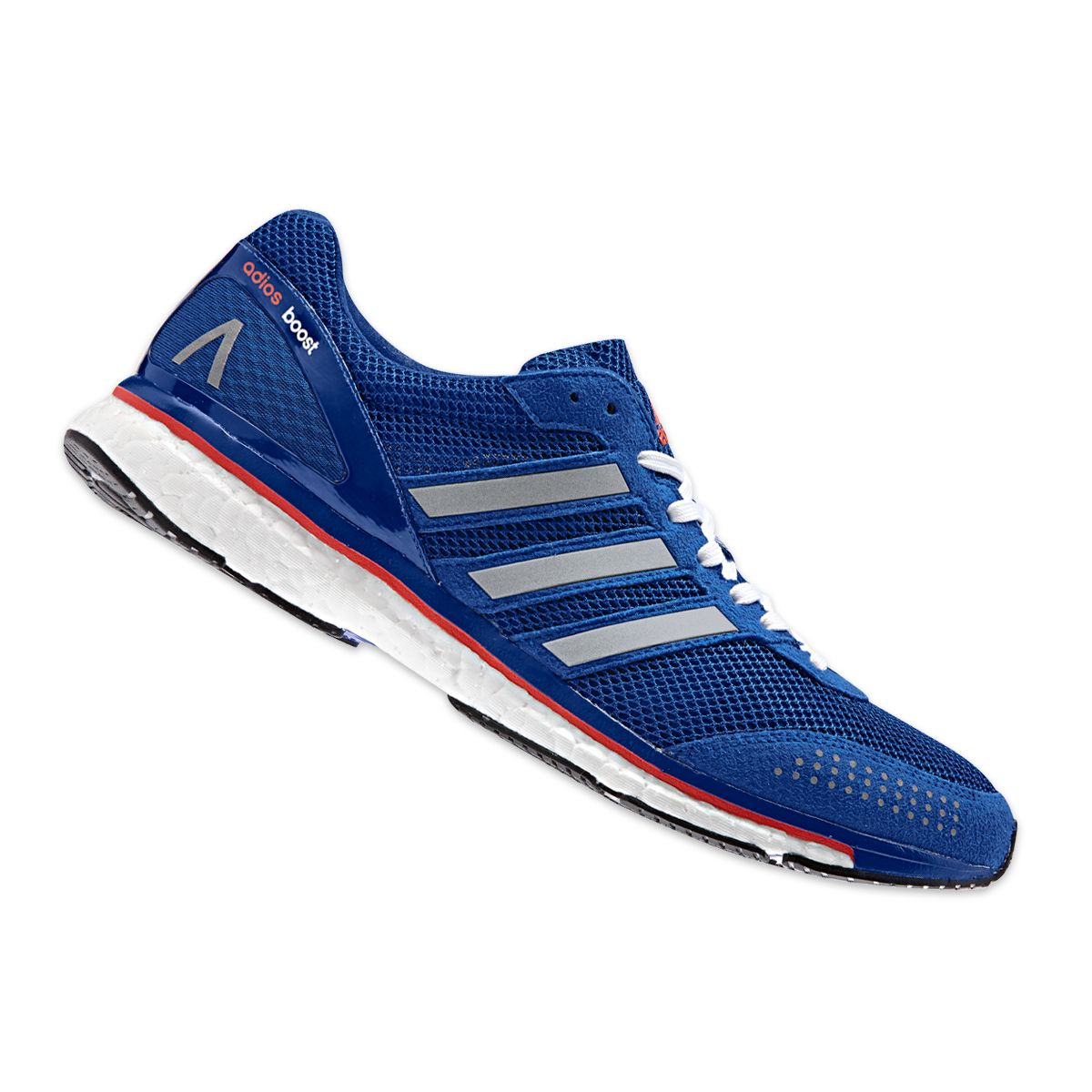 Adizero Adios Boost 2 Mens The Adizero Adios from adidas has delivered each  of the past 4 marathon world records and the Adios Boost 2 carries on that  ... 1db10f8d8