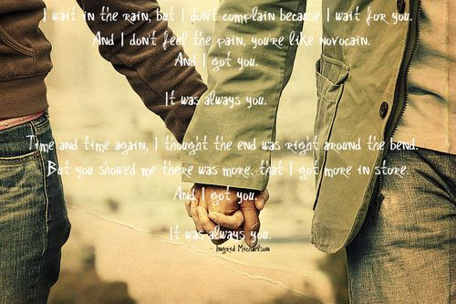 Bon August Sorries (love,quotes,always You,ingrid Michaelson,holding Hands,