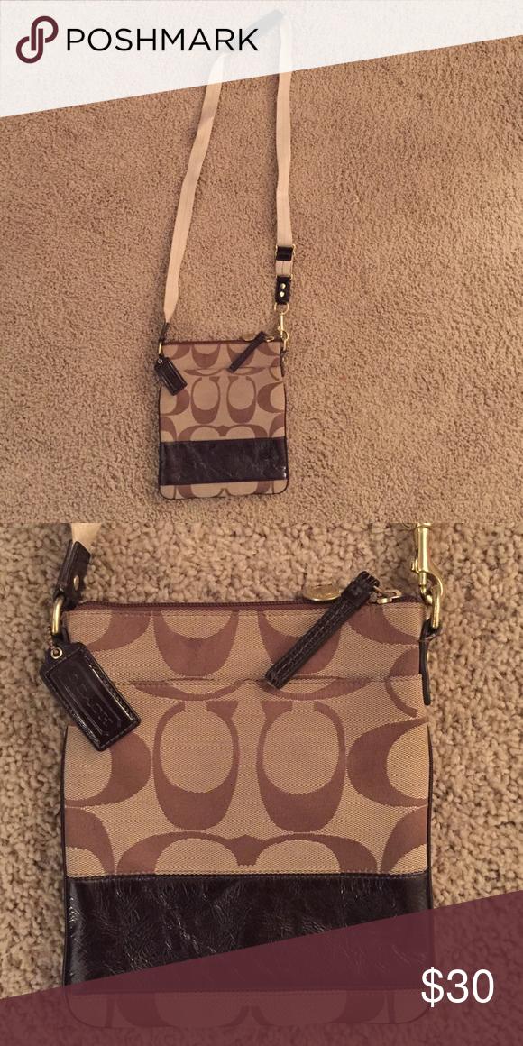 1f9aeab4f364 Crossbody Coach purse Authentic Coach crossbody purse. Gently used