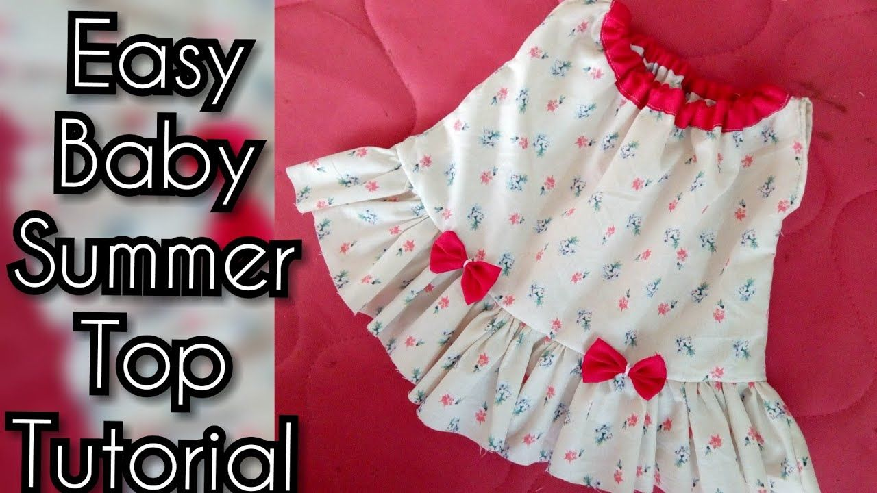 42f075f39b0d How to Cutting and Stitching New Born Baby Dress by kushi maqbool - YouTube