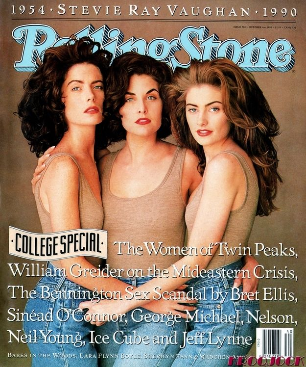 44 Photos That Will Transport You Back To The 90s Twin Peaks Twin Peaks Girls Sherilyn Fenn