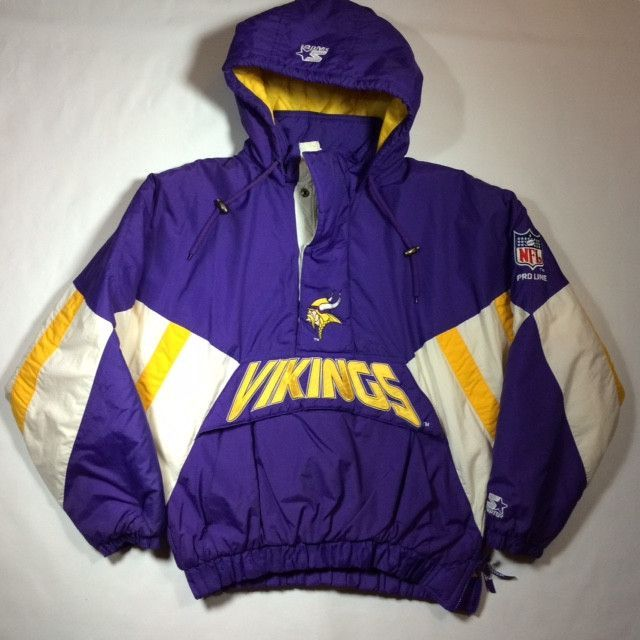 pretty nice ddfc8 1f18d Minnesota Vikings Pullover Starter Jacket | Jackets ...