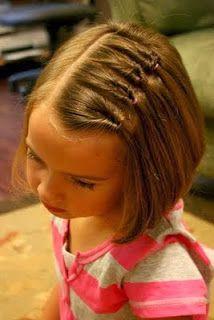 Peinados para ninas melenas